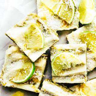 Tropical Cashew No Bake Snack Bars {Paleo}.