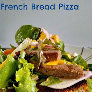 Greek Steak Salad French Bread Pizza