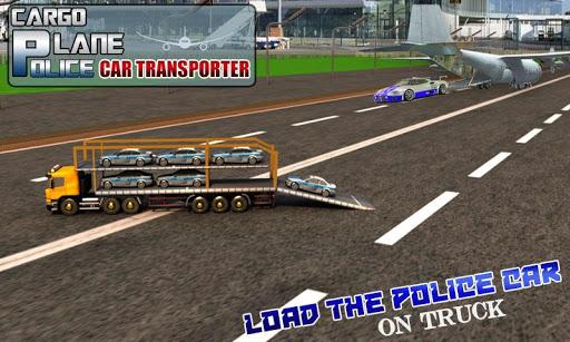 Transporter Plane - Police Car