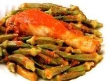 Kotopoulo Me Bamies Chicken With Okra Recipe