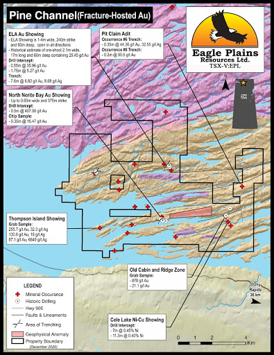 Eagle Plains Resources options Pine Channel project to Tri Capital