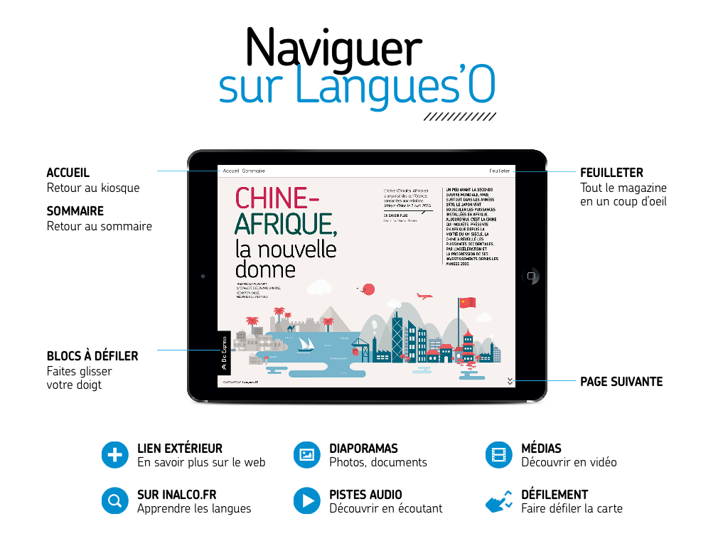 LANGUES O Magazine – Capture d'écran