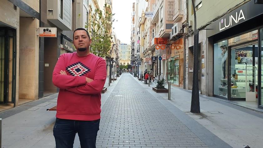 Manuel Álvarez, del colectivo Filosofía en la calle.