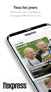 L'Express - Info au quotidien & Actu en direct Capture d'écran