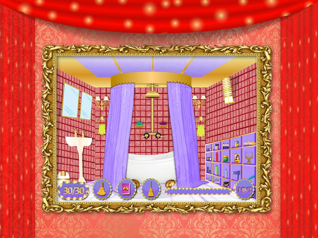 Princess Bedroom Decoration Games Princess Room Cleaning Games Android Apps On Google Play