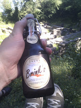 Photo: another craft beer made in Greece - just what we need for a pause in shade