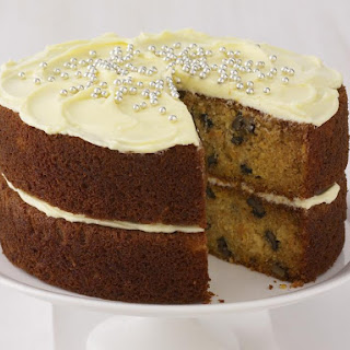 Frosted Carrot Pineapple Cake