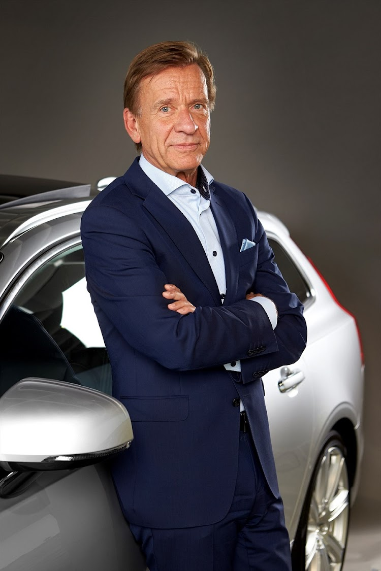 Hakan Samuelsson, president and CEO of Volvo announced the plan at the unveiling of the new XC40. Picture: QUICKPIC
