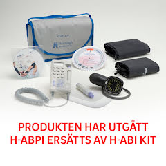 Huntleigh ABPI- Ankel/arm-index Kit med Dopplex® MD2