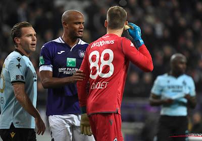 Anderlecht risque une amende pour le pétard lancé vers Mignolet