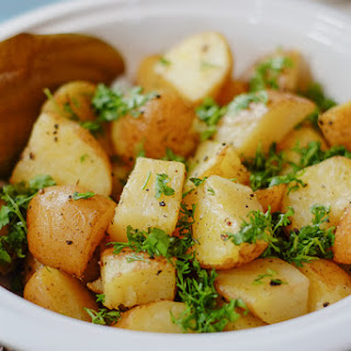 5-Ingredient Indian Style Roast Potatoes.