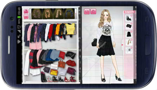 Girl Dress Up: Aline