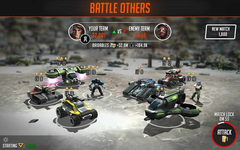 League of War: Mercenaries - screenshot
