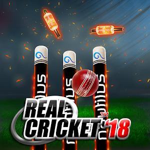 Real Cricket™ 18 MOD APK aka APK MOD 1.8 (Money increases/Unlocked Tournaments)