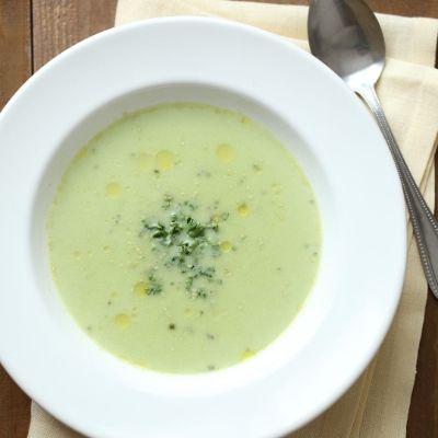 VI-DAで作る冷たいコンソメスープの調理過程2