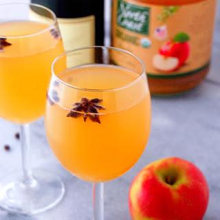 Spiced Apple Cider Mimosa