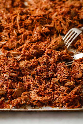 Slow Cooker Keto Barbecue Pulled Pork