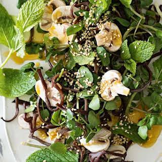 Mushroom, Black Fungus And Fennel Salad.
