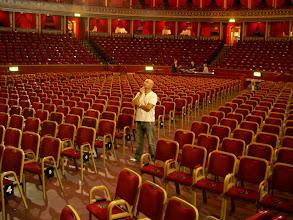 Photo: Pre gig Albert Hall