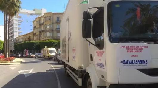 Los feriantes almerienses anuncian cortes de carreteras y manifestaciones
