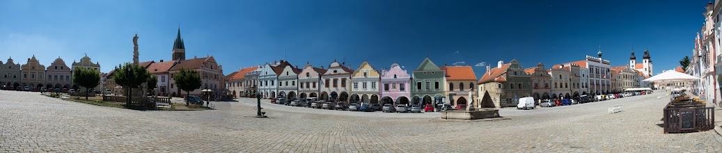 Photo: Obecnie zabudowania w rynku noszą głównie cechy stylu barokowego.