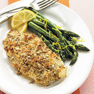 Sunflower Seed-Crusted Orange Roughy.