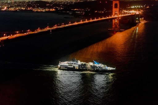 Ponant-San-Francisco3.jpg - Sail beneath the Golden Gate Bridge on Ponant's Le Soleal.