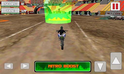 モーターバイクスタントレーサー3D