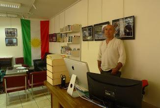 Photo: Kak Şeref, Kurdish Institute in Paris