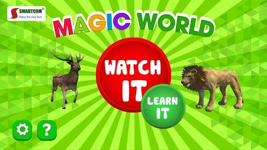 4D Land Animals - Smartcom Junior - náhled
