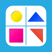 shapes and colors, kids games