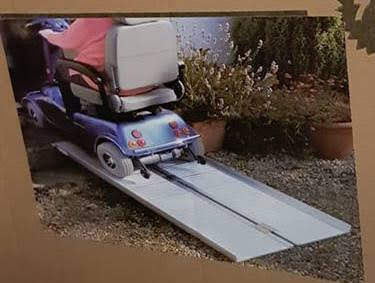Thieves pinch disability ramp