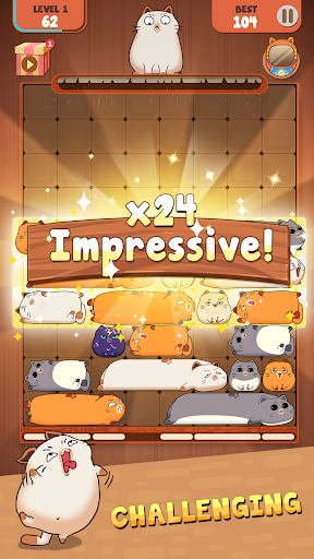 Haru Cats: Slide Block Puzzle filehippodl screenshot 3