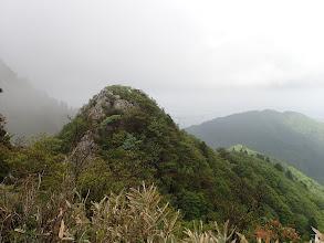 岳峠手前のピーク