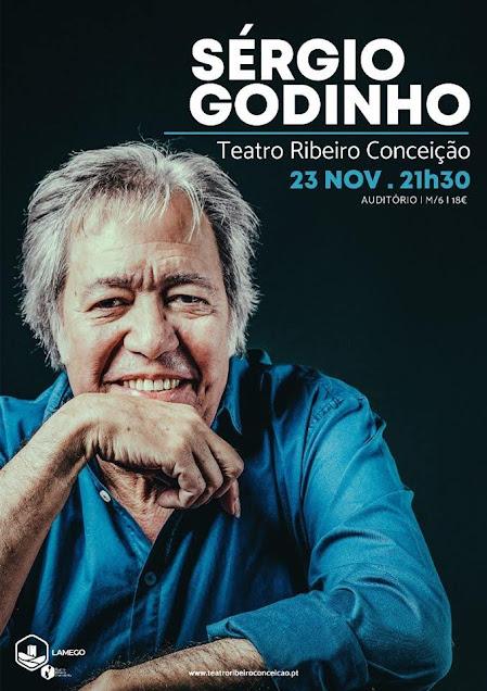 Sérgio Godinho canta sábado no Teatro Ribeiro Conceição