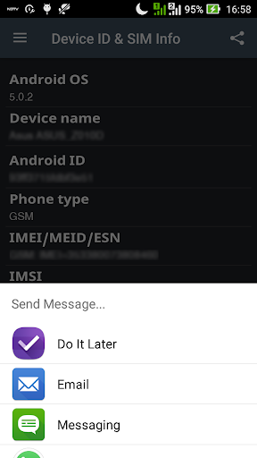Device ID & SIM Info screenshot 4
