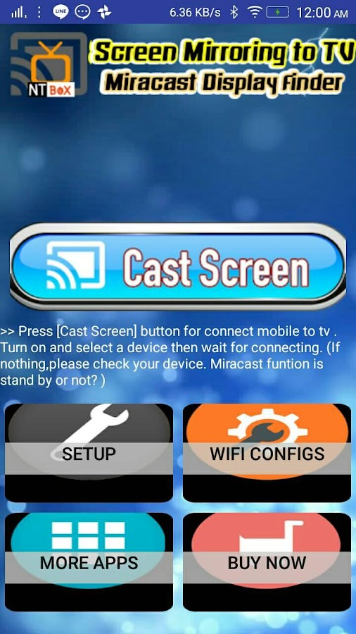 Screen Mirroring TV : Cast phone screen to TV- screenshot