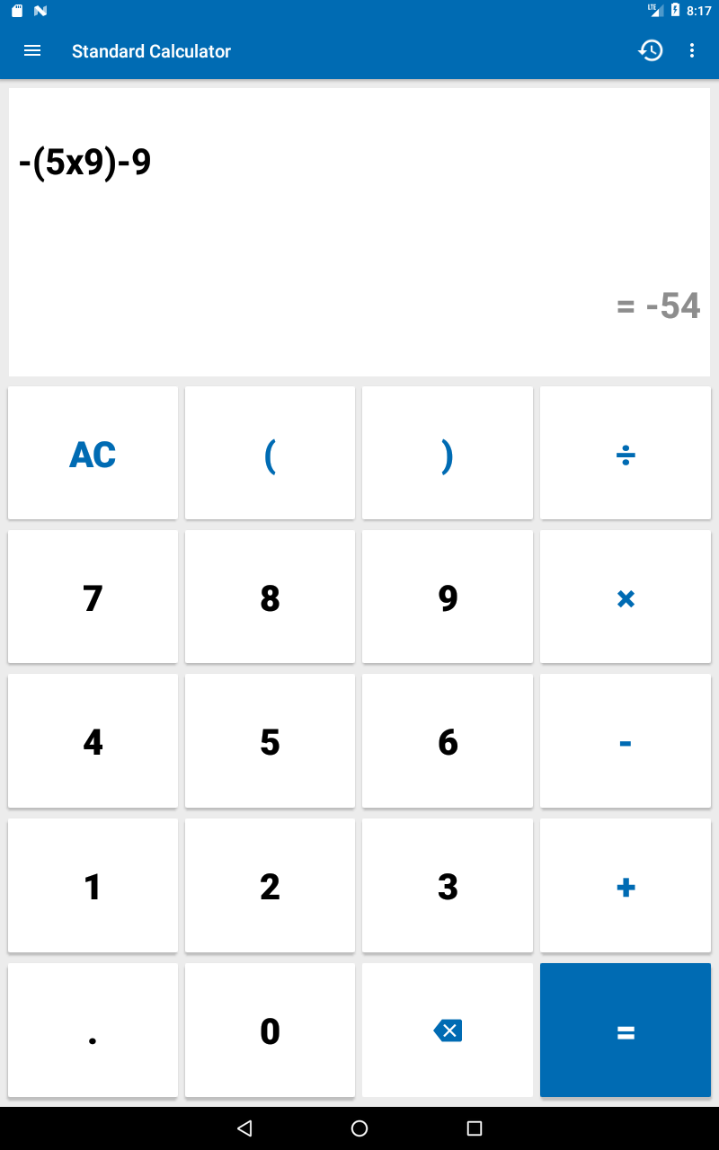 NT Calculator - Extensive Calculator Pro Screenshot 10