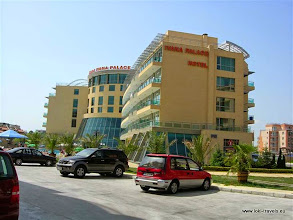 Photo: Zonnestrand, hotel Ivana Palace | Sunny Beach, Ivana Palace hotel.  www.loki-travels.eu