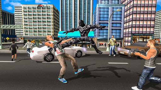Panther Super Hero Crime City Battle 1.0 screenshots 2