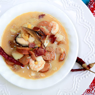 Low Country Seafood Chowder.