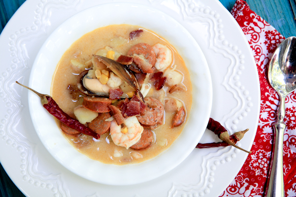 Low Country Seafood Chowder Recipe
