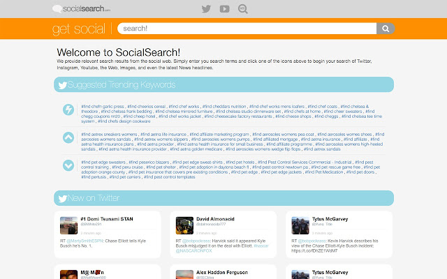 Social Search Extension