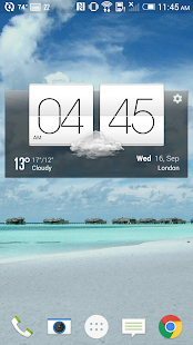 Local Weather Forecast Widget- screenshot thumbnail