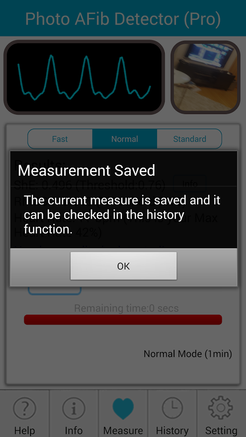 Photo AFib Detector- screenshot