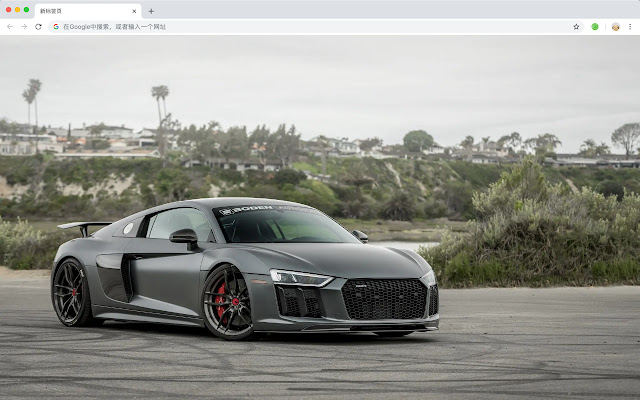 Audi R8 New Tab Page HD Wallpapers Themes