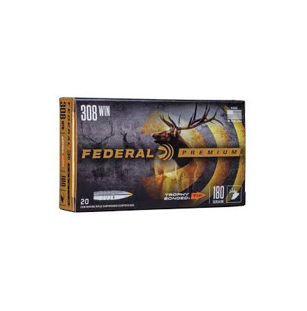 Federal Premium Trophy Bonded 308W 180gr