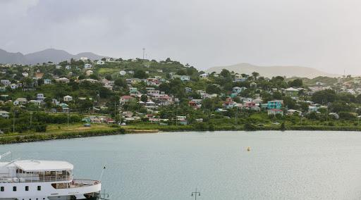 antigua-coastline.jpg - The shores of Antigua seen during a coastal catamaran ride.