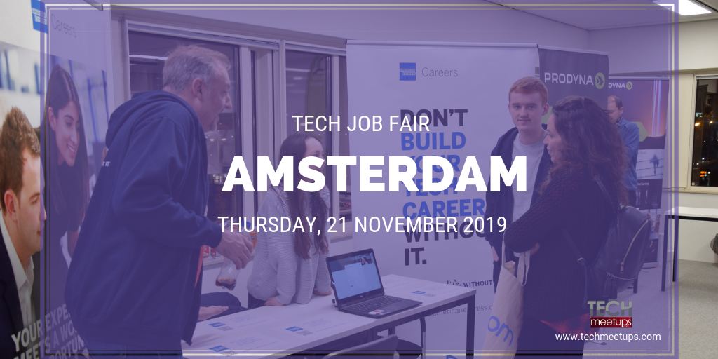 JOIN AMSTERDAM TECH JOB FAIR 2019