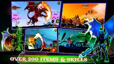 悪魔の戦士: Stickman Shadow - Fight Action RPGのおすすめ画像1